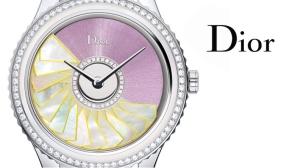 dior watch close up