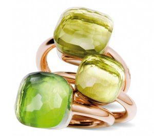 pomellago green rings trio