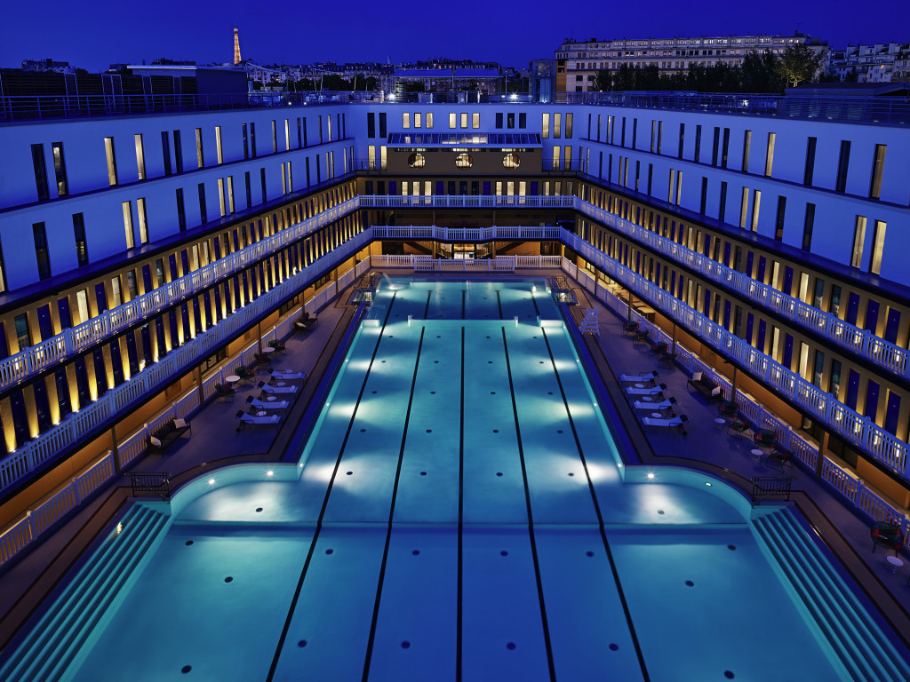 The molitor a paris institution juliet in paris for Piscine paris