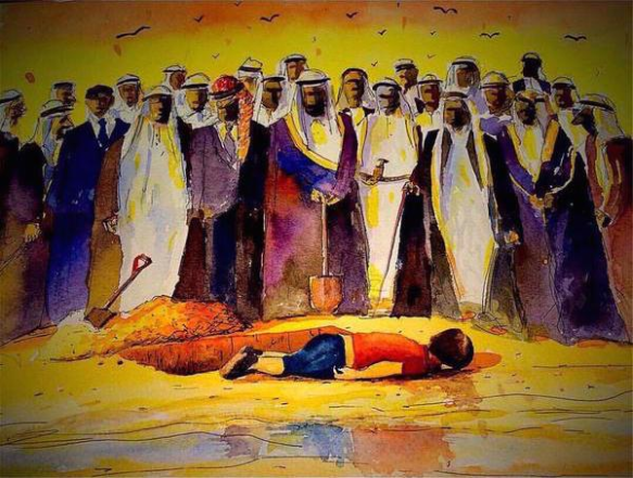 bigger arab drawing
