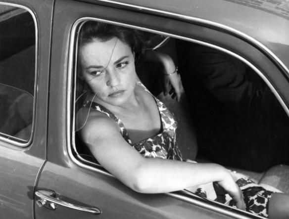 Jeanne Moreau - La Notte (1961) car