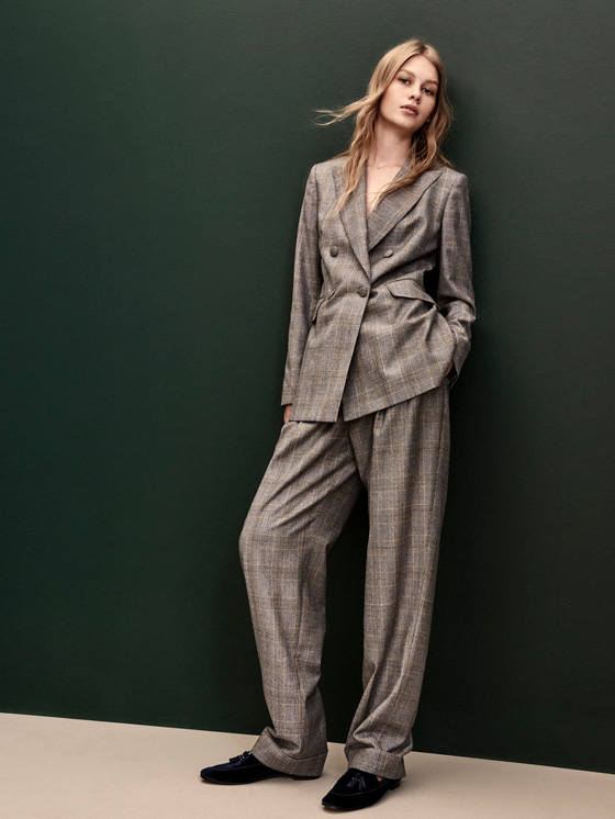 dutti checked blazer